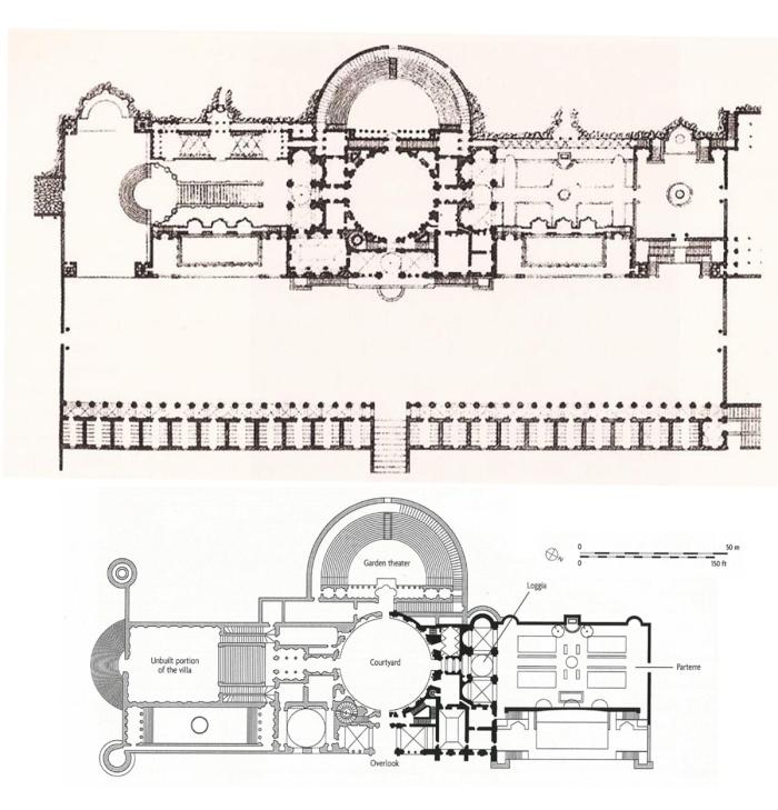 Villa Madama Plans