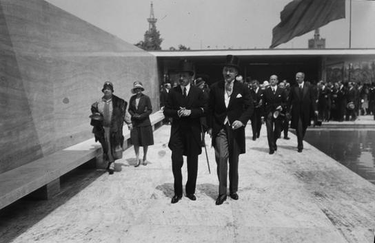 Josep Brangulí 1929 - Alfonsa XIII